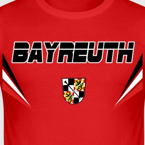 Bayreuth Vector T-Shirts - Männer Slim Fit T-Shirt