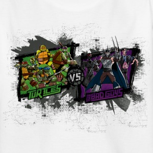 Teenage Shirt TURTLES 'Bad Guys' - Maglietta per ragazzi