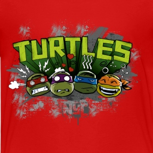 Kids Premium Shirt 'TURTLES' - Premium T-skjorte for barn