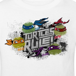 Kids Organic Shirt TURTLES 'Turtles rule!' - Kids' Organic T-shirt