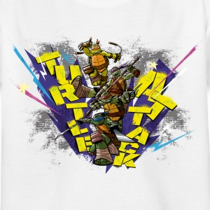 Kids Shirt TURTLES 'Attack!' - Kinderen T-shirt