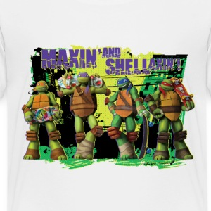 Kids Premium Shirt TURTLES 'Shellaxin'!' - Premium-T-shirt barn