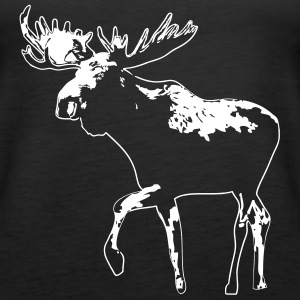 elg - moose - elk - hunting - hunter Topper - Premium singlet for kvinner