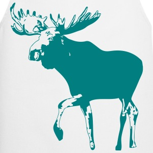 moose - elk - hunting - hunter  Aprons - Cooking Apron