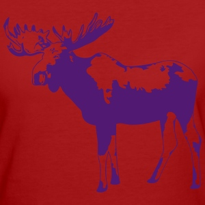 moose - elk - hunting - hunter T-Shirts - Women's Organic T-shirt