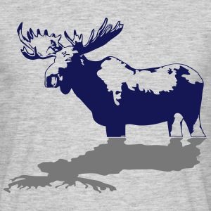 moose - elk - hunting - hunter T-Shirts - Men's T-Shirt