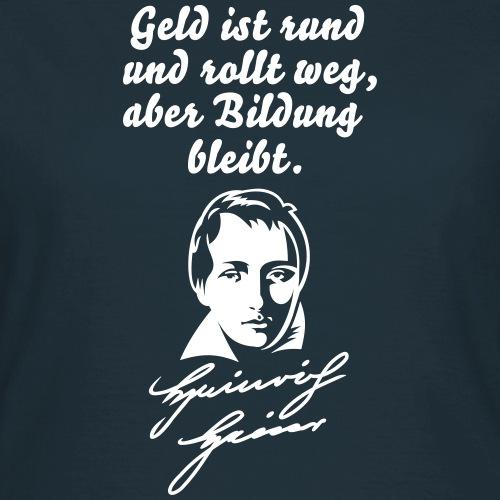 Heinrich Heine über Geld