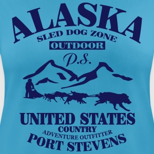 Husky - dog sled - Yukon Quest - Alaska  T-Shirts - Women's Breathable T-Shirt
