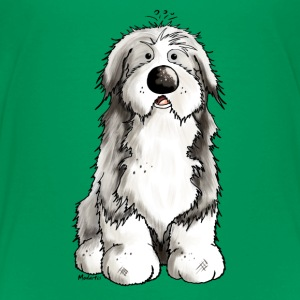 Rolig Bearded Collie - Bearded Collies - Hundar T-shirts - Premium-T-shirt barn
