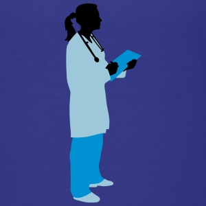 female_doctor_112014_c_3c T-Shirts - Teenager Premium T-Shirt