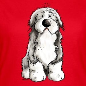 Funny Bearded Collie T-Shirts - Women's T-Shirt