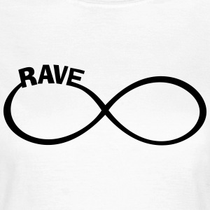 endless RAVE infinity Dance + Musik Party Outfit T-Shirts - Frauen T-Shirt