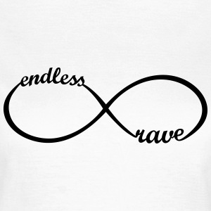 endless rave * Party Outfit Music Raver icon  T-Shirts - Women's T-Shirt
