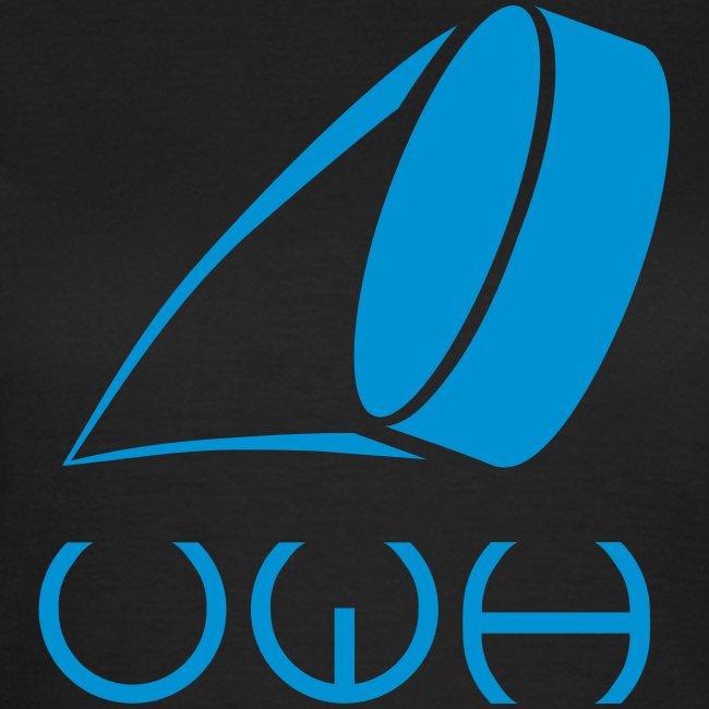 UWH Logo. Womens T-Shirt - (LogoBlue - frt/lg)