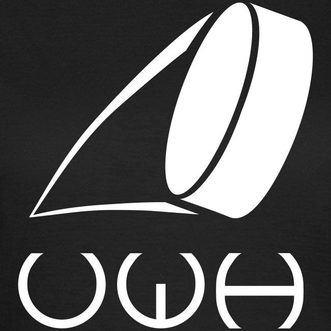 UWH Logo. Womens T-Shirt - (LogoWhite - frt/lg)