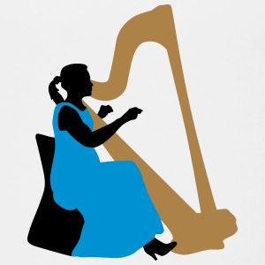 female_harp_player_122014_a_3c T-Shirts - Teenager Premium T-Shirt