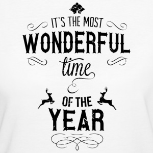 most_wonderful_time_of_the_year_b T-Shirts - Women's Organic T-shirt