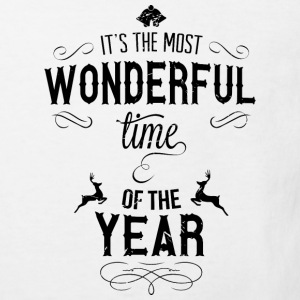 most_wonderful_time_of_the_year_b T-shirts - Ekologisk T-shirt barn
