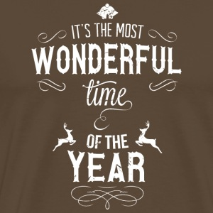 most_wonderful_time_of_the_year_w T-Shirts - Men's Premium T-Shirt