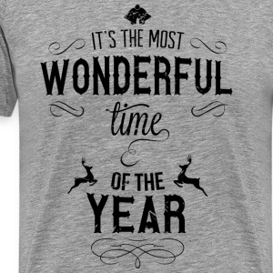 most_wonderful_time_of_the_year_b T-Shirts - Men's Premium T-Shirt