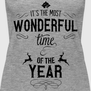 most_wonderful_time_of_the_year_b Toppe - Dame Premium tanktop