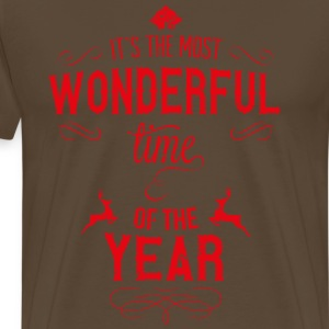 most_wonderful_time_of_the_year_r T-Shirts - Men's Premium T-Shirt