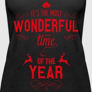 most_wonderful_time_of_the_year_r Toppe - Dame Premium tanktop