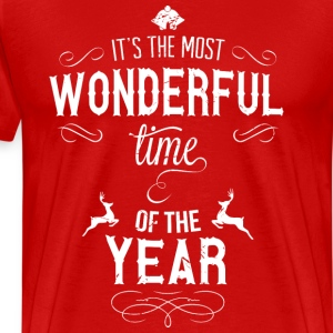 most_wonderful_time_of_the_year_w T-Shirts - Männer Premium T-Shirt