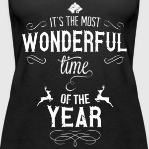 most_wonderful_time_of_the_year_w Toppe - Dame Premium tanktop
