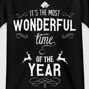 most_wonderful_time_of_the_year_w Shirts - Teenage T-shirt