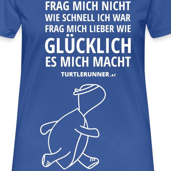 Motto-Laufshirt Women