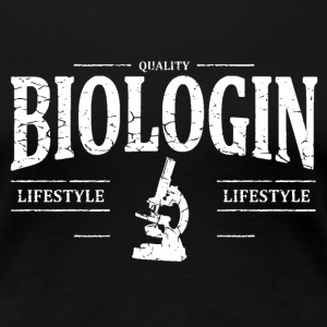 Biologin T-Shirts - Frauen Premium T-Shirt