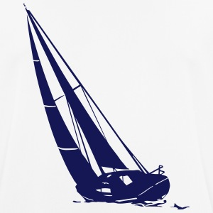 sailing - sailingboat - maritime - sailor T-Shirts - Men's Breathable T-Shirt