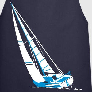 sailing - sailingboat - maritime - sailor  Aprons - Cooking Apron