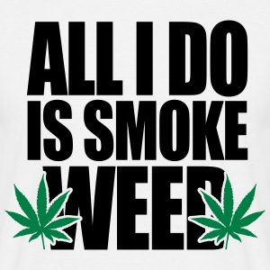 Smoke Weed  Tee shirts - T-shirt Homme