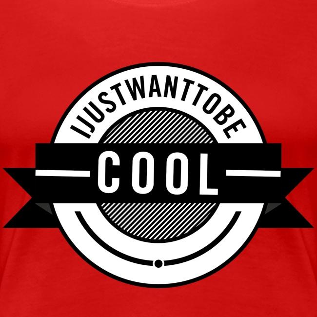 Premium-T-shirt dam IJWTBC