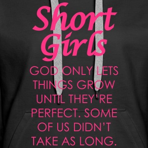 Short Girls Hoodies & Sweatshirts - Women's Premium Hoodie