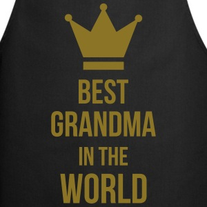 Best Grandma in the world !  Aprons - Cooking Apron