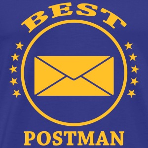 Best Postman  T-Shirts - Men's Premium T-Shirt