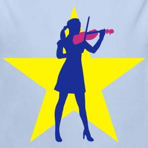 female_violin_player_122014_c_3c Pullover & Hoodies - Baby Bio-Langarm-Body