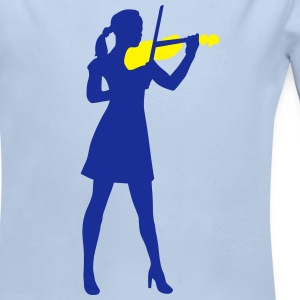 female_violin_player_122014_b_2c Pullover & Hoodies - Baby Bio-Langarm-Body
