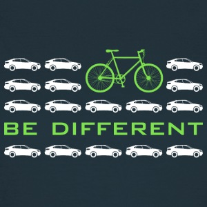 be different Auto Fahrrad Bike car anders einzig - Frauen T-Shirt