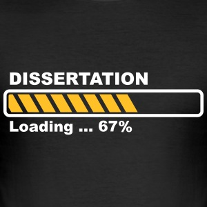 Dissertation - loading T-Shirts - Men's Slim Fit T-Shirt