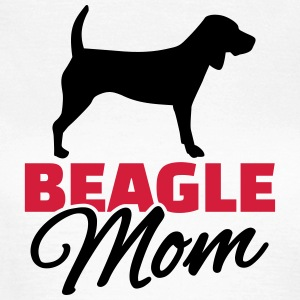 Beagle Mom T-Shirts - Frauen T-Shirt
