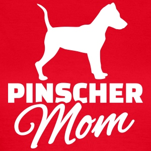 Pinscher Mom T-Shirts - Frauen T-Shirt
