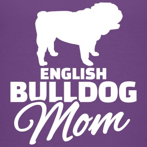 English Bulldog Mom T-Shirts - Kinder Premium T-Shirt