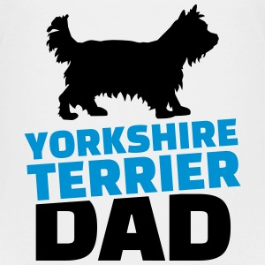 Yorkshire Terrier Dad T-Shirts - Kinder Premium T-Shirt