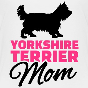 Yorkshire Terrier Mom T-Shirts - Kinder Premium T-Shirt