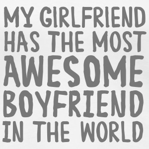 Awesome Boyfriend T-Shirts - Frauen Premium T-Shirt