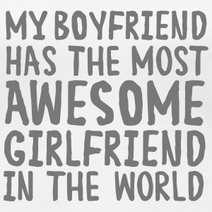 Awesome Girlfriend T-Shirts - Frauen Premium T-Shirt